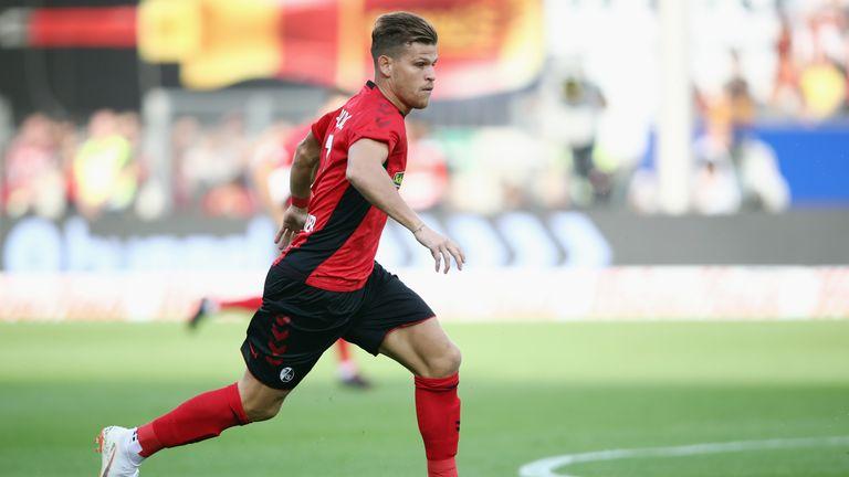Florian Niederlechner scored for Freiburg