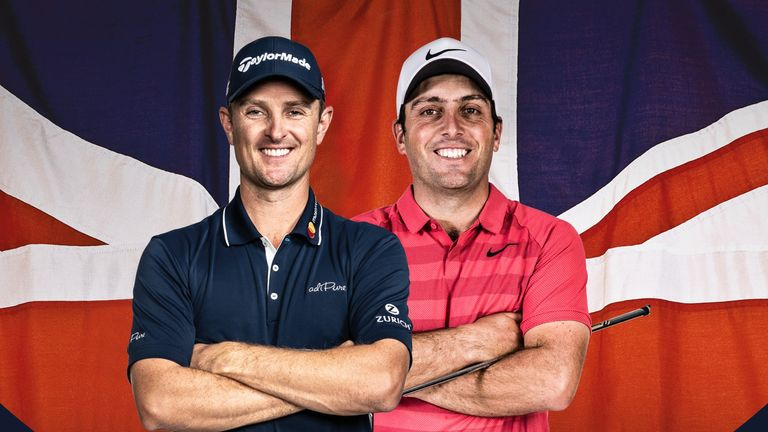 Justin Rose hosts and Francesco Molinari is also in the field at Walton Heath this week