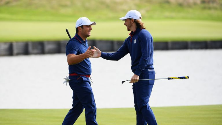 Ryder Cup stars Molinari and Fleetwood are in action at Walton Heath