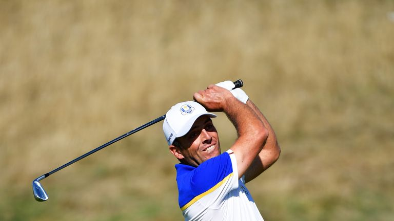 Molinari battled bad back during 5-0 Ryder Cup