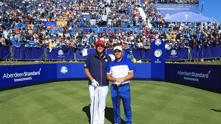 Phil Mickelson was beaten by Francesco Molinari on the final day