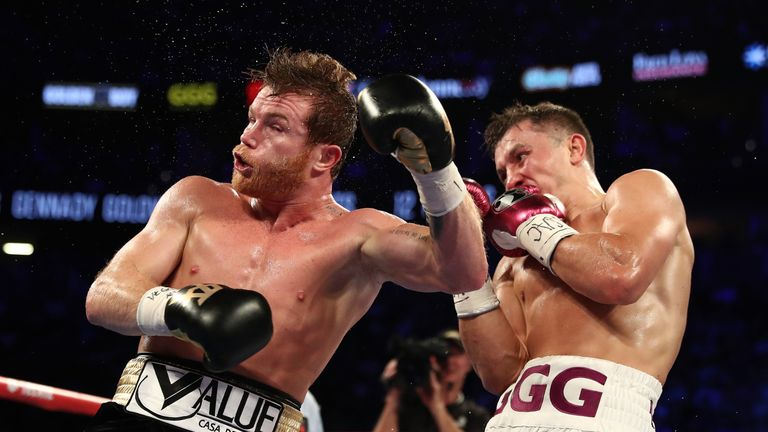 Saul 'Canelo' Alvarez (L) and Gennady Golovkin shared two classic fights