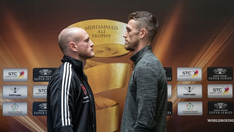 Groves and Smith go face to face (World Boxing Super Series)