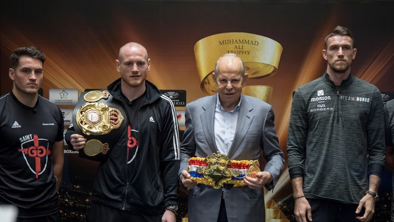 Press conference (World Boxing Super Series)