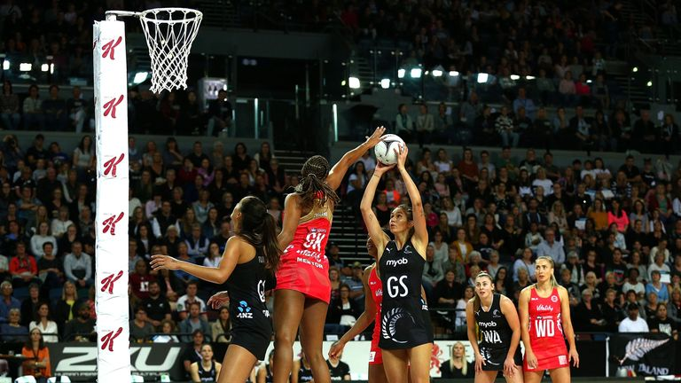 Geva Mentor starred in the defensive end for England