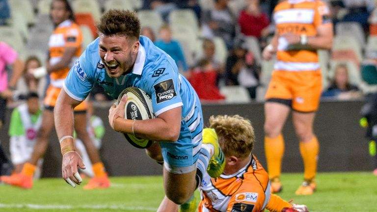 Glasgow Warriors have scored 14 tries in three rounds