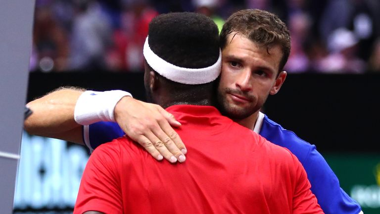 Roger Federer, Novak Djokovic lose doubles match at Laver Cup