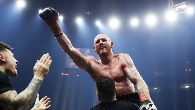 Groves won the WBA super-middleweight belt in 2017