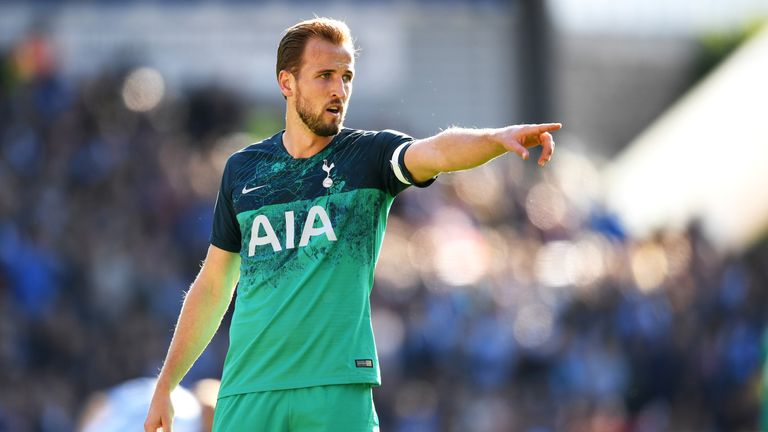 Harry Kane has scored nine goals in 11 Champions League appearances
