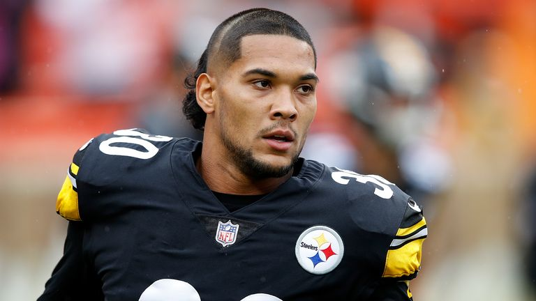 James Conner has had a breakout season with the Steelers