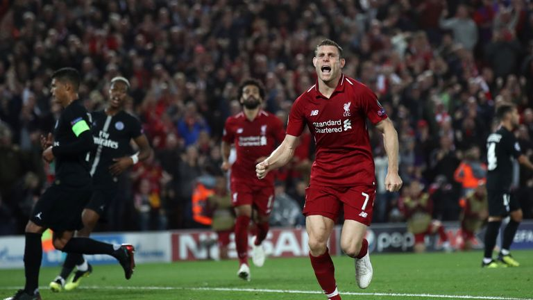 James Milner scored from the penalty spot