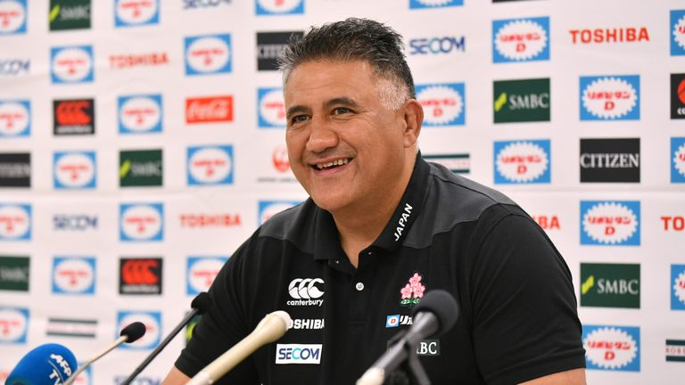 Jamie Joseph will be hoping to coach Japan to a World Cup quarter-final next year