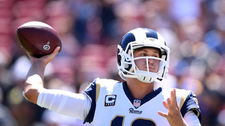 Jared Goff is the pick of the quarterbacks on offer in the Week Seven matchups