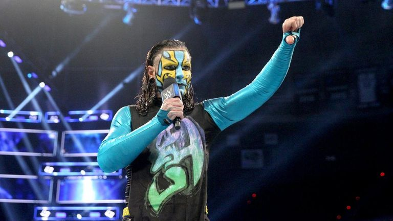 Jeff Hardy will be desperate to make an impact in his first ever Hell In A Cell match on Sunday night