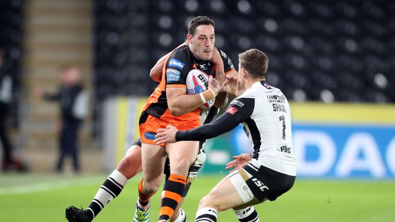 Huddersfield swap Jordan Rankin for Castleford's Joe Wardle | Rugby League News |