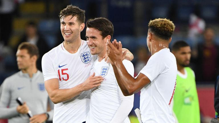 Chilwell made a winning start for England at the King Power Stadium