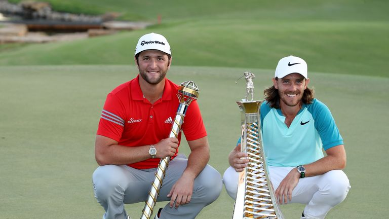 Jon Rahm won last year's DP World Tour Championship with Tommy Fleetwood prevailing in the Race to Dubai