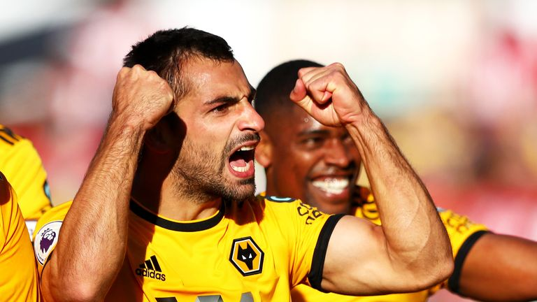 Jonny scored Wolves' second late on to seal the win