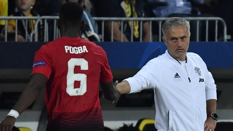 Many pundits believe Pogba cannot reproduce his France form under Jose Mourinho