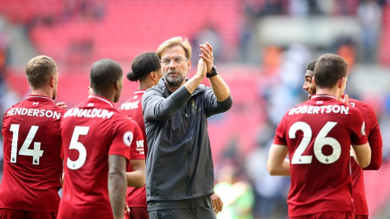 Jurgen Klopp expects plenty of problems to hit Liverpool after their 100 per cent start to the season continued