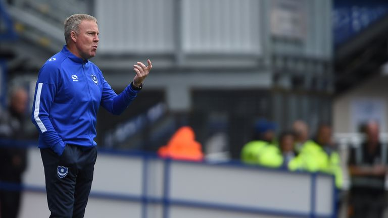 Kenny Jackett's Pompey are sitting pretty at the top of the table