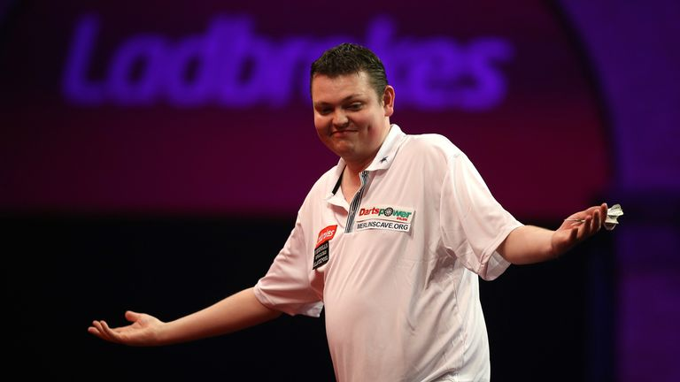 Darts player Kevin McDine has tested positive for cocaine