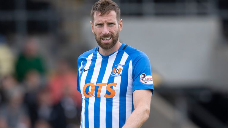 Kilmarnock defender Kirk Broadfoot has helped his side keep six clean sheets in 10 games so far this season