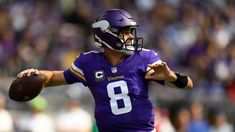 Vikings quarterback Kirk Cousins could be another option?