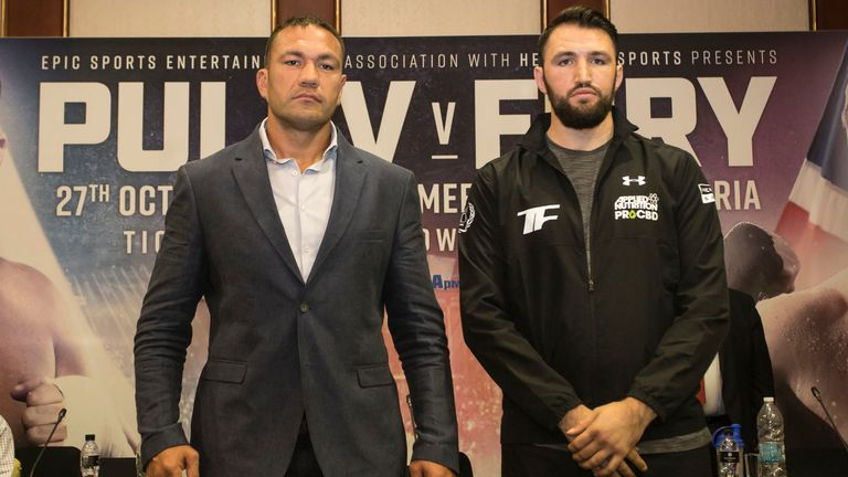 Kubrat Pulev is 14 years older than Fury