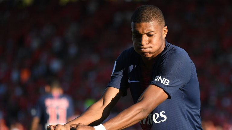 Kylian Mbappe will spend another match on the sidelines after losing a suspension appeal