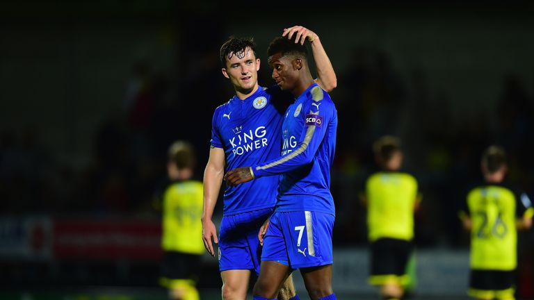 Chilwell and Demarai Gray were late call-ups to the England squad
