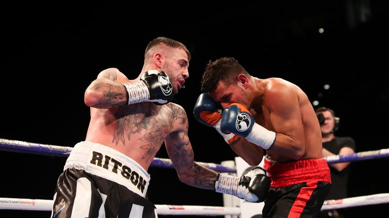Ritson improved his record to 17-0