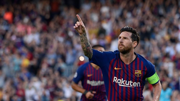 Lionel Messi has scored 560 goals for Barcelona