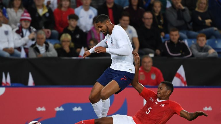 Loftus-Cheek started against Switzerland in an international friendly