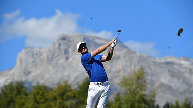 Bjerregaard raced to the top of the leaderboard with a closing 63