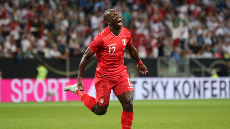 Luis Advincula scored his first international goal at the 71st attempt