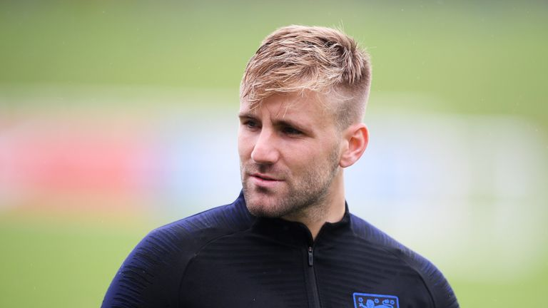Manchester United's Shaw should be in England's starting line-up on Saturday, says Higginbotham