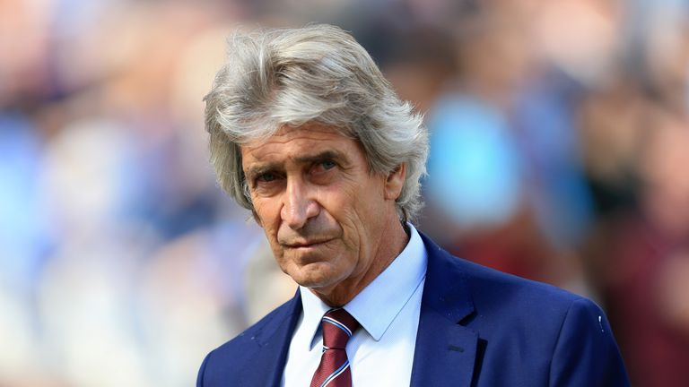 Manuel Pellegrini's side have lost their first four Premier League games
