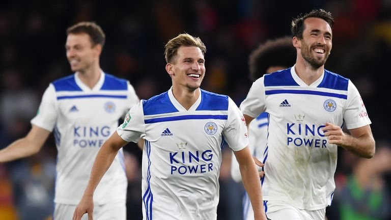 Marc Albrighton was superb for Leicester