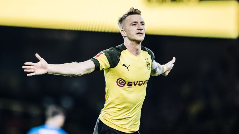 Marco Reus was in fine form to net twice