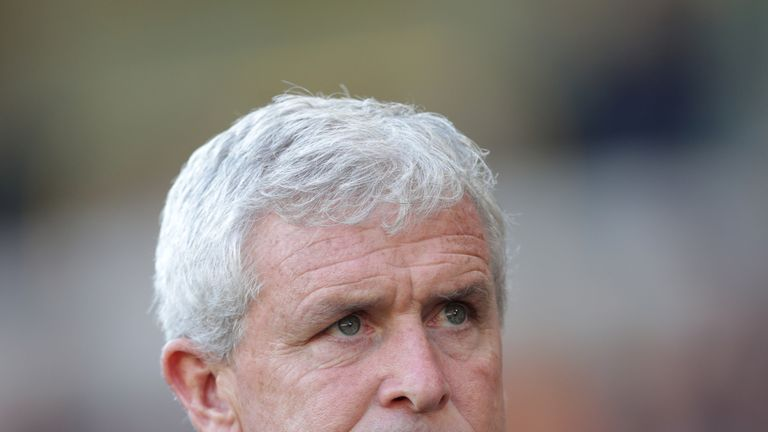 Mark Hughes hopes his position as Southampton manager is unaffected by Les Reed's departure