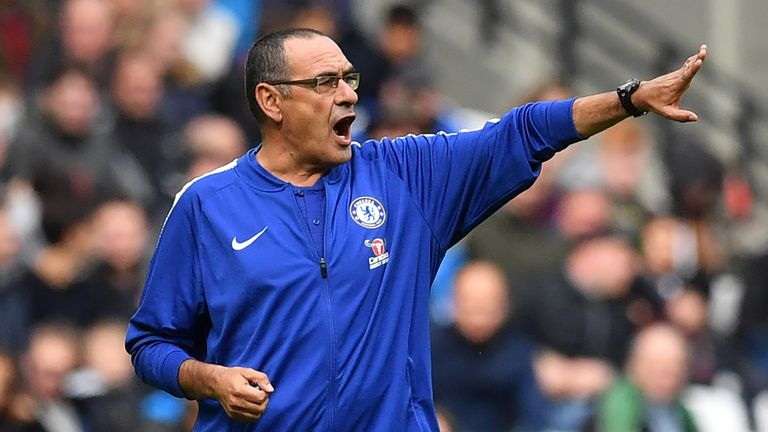 Maurizio Sarri left Napoli to join Chelsea this season