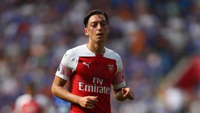 Mesut Ozil signed a new bumper deal at Arsenal in February