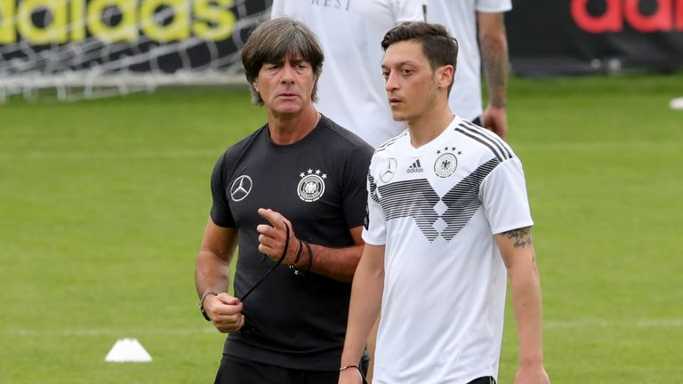 Mesut Ozil helped Joachim Low's Germany win the World Cup in 2014