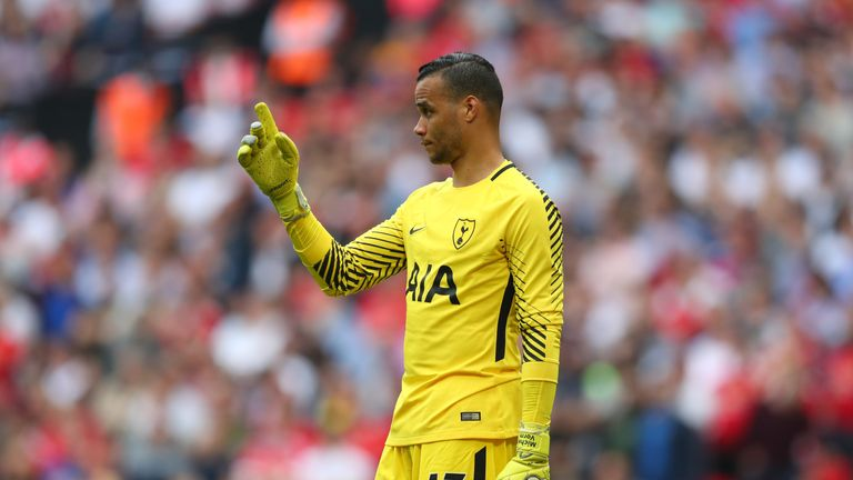 Michel Vorm is still missing for Tottenham