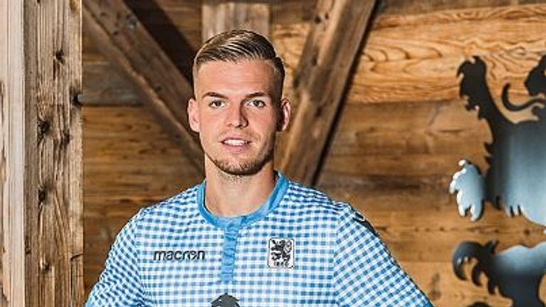 1860 Munich have released an Oktoberfest themed kit (Credit: 1860 Munich)