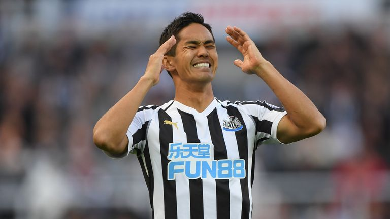 Newcastle suffered defeat against Leicester on Saturday