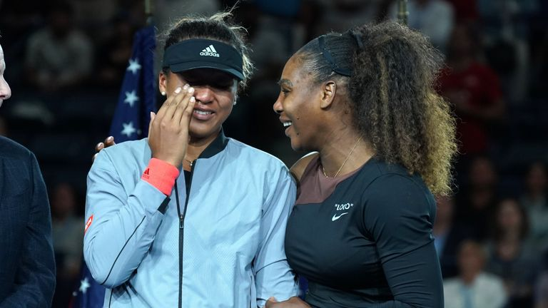 Williams said she hoped to learn from Osaka's performance