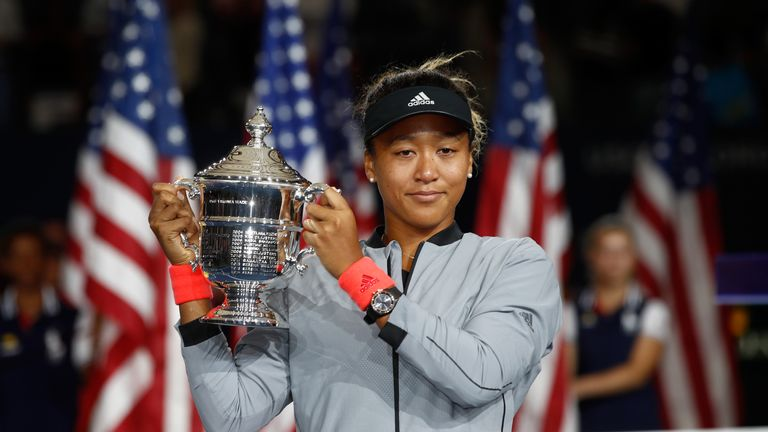 Naomi Osaka won her maiden Grand Slam title at the US Open