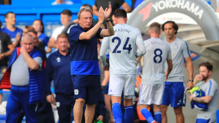 Neil Warnock has yet to win with Cardiff in the Premier League